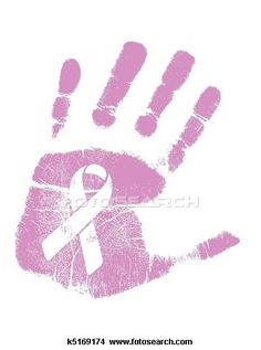 Drawings of Breast Cancer Awareness handprint k5169174 - Search Clip Art Illustrations, Wall Posters, and EPS Vector Graphics Images - k5169174.jpg