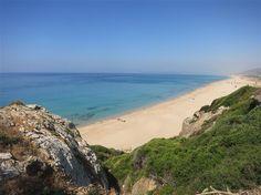 Playa de Zahara vista de Playa de los Alemanes