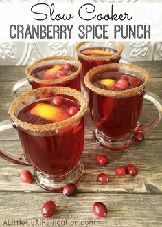 Cranberry Spice Mulled Punch
