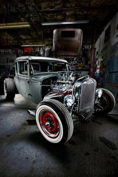 Cool garage pic!