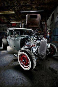 Cool garage pic!