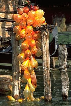 Chihuly ~ Venice/Finland 3 Art-Glass Sculpture Installation♥♥