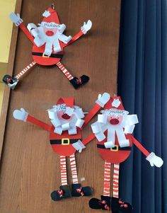 This Jumping Paper Cup Elf Puppet Craft is so much fun. Pull the string to watch the elves leap up and down! Such a cute interactive Christmas craft for kids. Christmas Art For Kids, Christmas Art Projects, Winter Crafts For Kids, Preschool Christmas, Christmas Activities, Preschool Crafts, Christmas Cards, Christmas Decorations, Christmas Ornaments