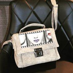 Eugénie sur Instagram: Sac Quadrille Small (licence Sacotin) - fait avec mes petites mains ! 99€ Élégant sac bandoulière style cartable, taille small :…