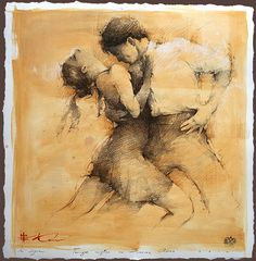 In Sync - Drawing by Russian born, Montgomery, Alabama based artist Andre Kohn