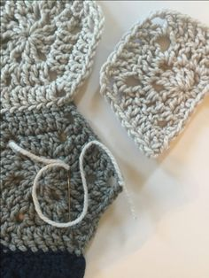 How to create a mattress stitch crochet stitch for sewing pieces together.