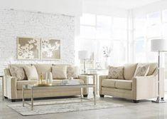 Mauricio Linen Sofa