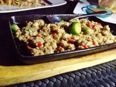 Blue Elephant Sky Lounge: Delicious Thai Dining from Up in the Sky Sisig Recipe, Cebu, Fried Rice, Crocodile, Trips, Good Food, Elephant, Lounge, Sky