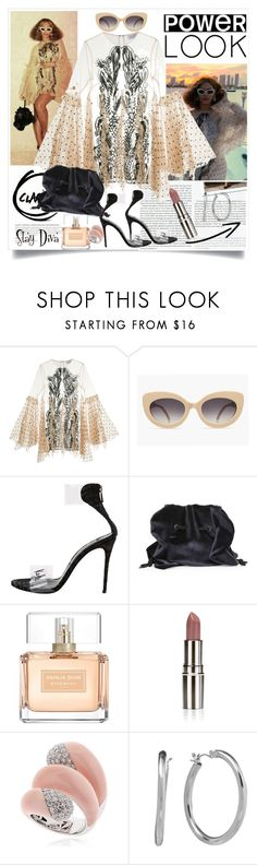 """""""Beyoncé's look"""" by staydiva ❤ liked on Polyvore featuring Stop Staring!, Alice McCall, La Petite Robe di Chiara Boni, Givenchy, Nude Envie, Vennari, Chaps, Beyonce, Bey and yonce"""