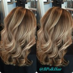 Shadow root and blonde balayage @bpolkhair