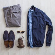 Outfit Ideas for Men Chic For Men, Stylish Men, Casual Wear, Casual Outfits, Men Casual, Look Fashion, Mens Fashion, Fashion Tips, Navy Bomber Jacket