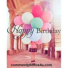 Happy Birthday... Comment photos from commentphotos4u.com