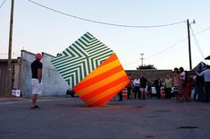 Colorful Street Art Installations by Maser-12