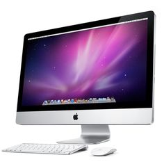 Apple - iMac - The ultimate all-in-one desktop computer. ❤ liked on Polyvore featuring electronics, computer, home, accessories, technology and filler