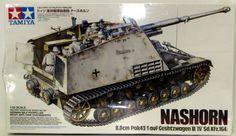 Tamiya 1/35 Nashorn 8.8cm Pak 43/1 auf Gestzwagen III/IV (Sd.kfz.164) – Shore Line Hobby
