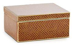 Large Accessories Box, Brown on OneKingsLane.com