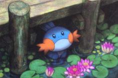 "Aya Kusube ""Mudkip"" from Primal Clash Pokemon W, Pokemon Fan Art, Pokemon Cards, Deadpool Pikachu, Mudkip, Pokemon Special, Pokemon Pictures, Drawings, Video Games"