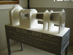 Model of Wind Tunnel