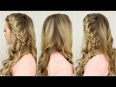 Half Up Side French Braid - Missy Sue Hair Tutorials