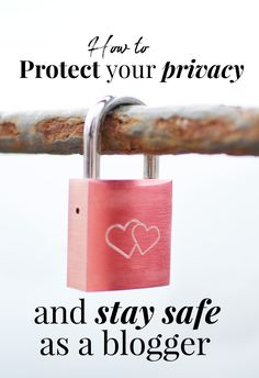 In the comments of my post on the things that have made me want to quit blogging, Suze asked for some tips on how to retain your privacy as a blogger - and specifically on how to blog anonymously. Now, I've never actually blogged anonymously, so that's not something I have personal experience of. T