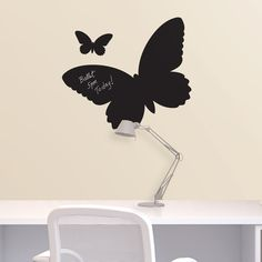 Hang one over your desk, and imagine butterflies in flight while you get your work done.