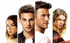 Download wallpapers Overdrive, 2017, Scott Eastwood, Freddie Thorp, Gaia Weiss, Alexander Richard Pettyfer, New movies, poster, promo