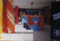 Projeto Literário desenvolvido no SESC - Homenagem a Monteiro Lobato (hall de entrada)