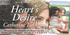 On Tour with Prism Book Tours ***Premiering as Sweetest Heart on the Hallmark Channel March 17 9 PM ET*** (check your local listings for your air time) Heart's Desire (Shores of Indian Lake #2) Catherine Lanigan Contemporary Romance Paperback & ebook, 191 pages August 1st 2014 by Harlequin Heartwarming Goodreads│Amazon│Barnes & Noble│Harlequin His homecoming is bittersweet…for both of th   #BookReview #ContemporaryRomance #giveaway #Harlequin #Series #Swee