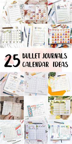 Bullet Journal Monthly Calendar Inspiration For Work - Cute Bullet Journal Doodles #bulletjournalideas #bulletjournalonline #bulletjournalscute