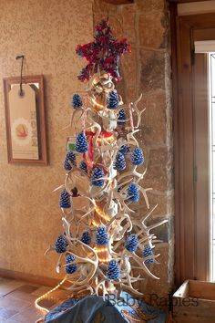 How to make an antler Christmas tree | Hunting | Pinterest ...