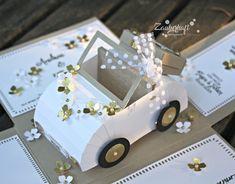 """Gestern waren wir in der Nähe von Stuttgart zur Hochzeit meines """"kleinen"""" Bruders. Eines der Geschenke an das Brautpaar, die Hochzeitseinla..."""