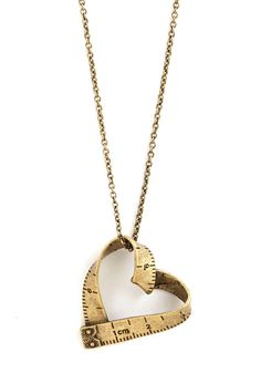 Love Beyond Measure Necklace | Mod Retro Vintage Necklaces | ModCloth.com from ModCloth. Saved to So Many Pretty Things. #love #necklace #retro #measure #beyond #vintage #modcloth #jewelry.