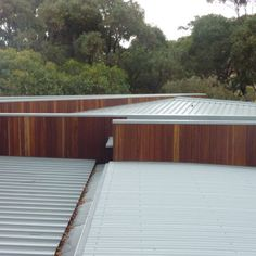 True Blue Roofing Geelong specializes in metal wall cladding which can quickly transform any wall. They are also experts in all aspects of roofing. Roof Cladding, Exterior Cladding, Wall Cladding, Metal Roof, Metal Walls, Blue Roof, Window Detail, Park Homes, Blue Walls