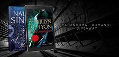 #Giveaway – Win Any #NaliniSingh & #SherrilynKenyon Novel You Want! #kindle