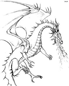 Coloring Pages Licious Dragon For Adults Printable Kids