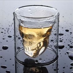New to the free shipping Transparent Crystal Skull Head Shot Glass Cup For Whiskey Wine Vodka Bar Club Home Drinking Ware #Affiliate