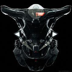 "rhubarbes: ""ArtStation - by shun endo "" Character Art, Character Design, Tactical Helmet, Tony Stark, Master Chief, Concept Art, Sci Fi, Darth Vader, Science Fiction"