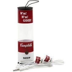 Campbell's® Soup Can Earbuds - CampbellShop.com