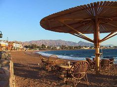 Dahab, Sinai, Egypt. Well, it was one of my favorite places back in the late 80s when it was a tiny bedouin village.