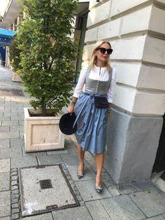 Dirndl Dress, Corte Y Color, Anti Aging, Casual, Midi Skirt, Fashion Show, Germany, Stylish, Felting