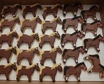 horse decorated cookies - Bing Images