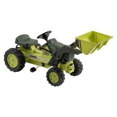 Kalee Pedal Tractor with Dump Bucket   Toys Heaven