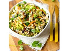 Easy Healthy Salad Recipes - Chinese Chicken Salad - Healthy Meals on a Budget