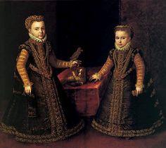 Infantas Isabel Clara Eugenia y Catalina Micaela