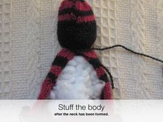 How to Knit a Comfort Doll or Duduza Doll