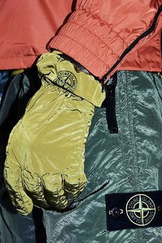 - Stone Island Nylon Metal Gloves In Mustard . Football Casuals, Mens Trends, Cyberpunk Fashion, Fashion Advertising, Work Wear, Mood, Street Wear, Gloves, Menswear