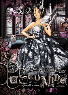 Portada Cool Art, Ball Gowns, Stars, Formal Dresses, Color, Black, Wallpapers, Girls, Fashion