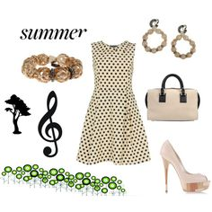 """""""Summer music"""" by Catalógate on Polyvore"""