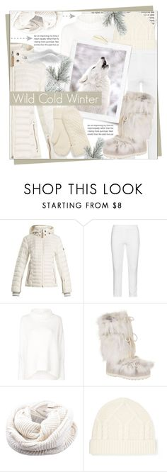 """White Cold Winter"" by celine-diaz-1 ❤ liked on Polyvore featuring Bogner, KJ Brand, Joseph and Frame"