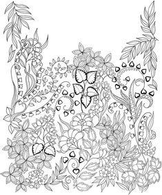 Afbeeldingsresultaat Voor Johanna Basford Magical Jungle